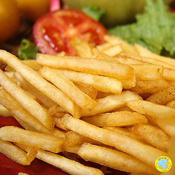 French fries炸薯条