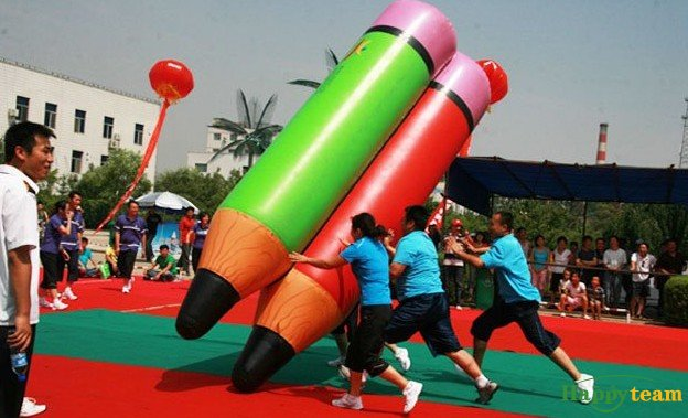 Team Building-Inflatable pencil大铅笔