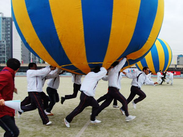 Team Building-Ball Walker运转乾坤