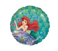 Little Mermaid Happy Birthday