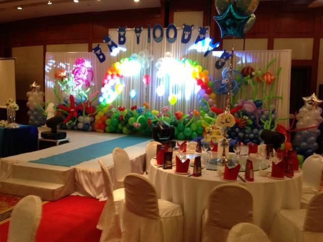 ocean theme海洋主题背景_party decorate派对装饰_与